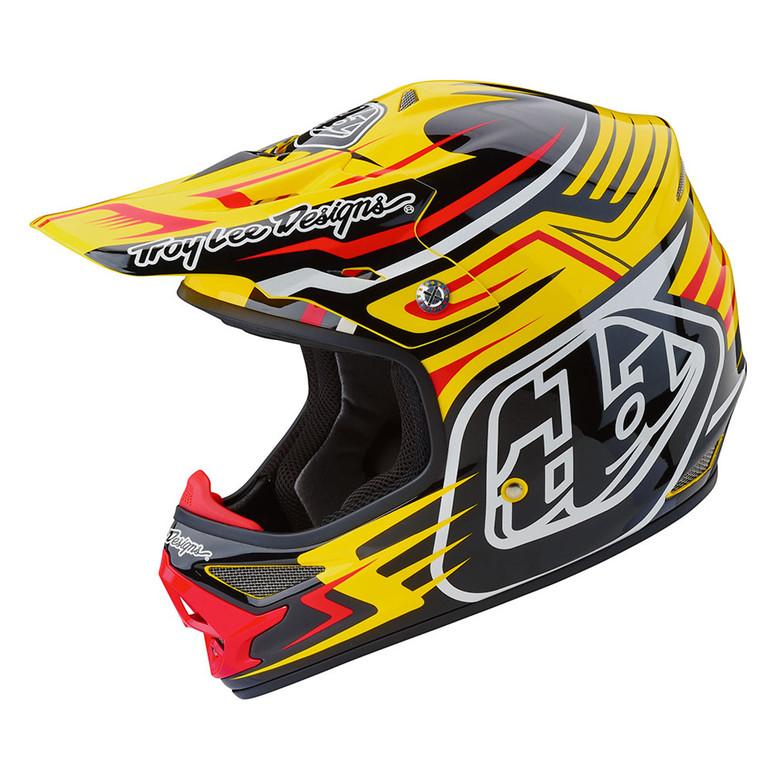 TLD Air Helmet - Scratch Yellow