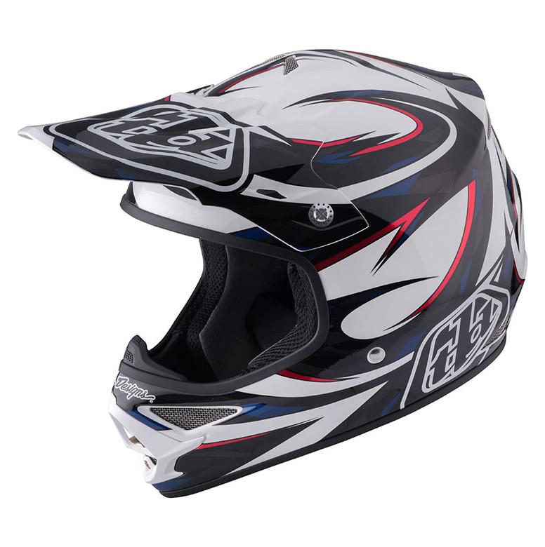 TLD Air Helmet - Vortex White