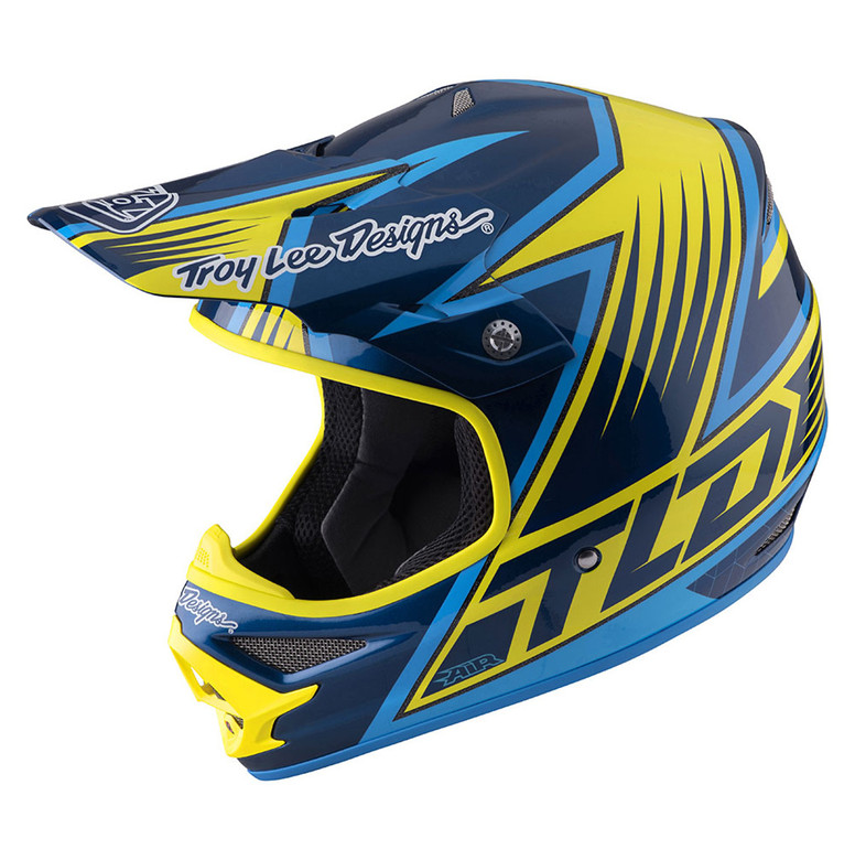 TLD Air Helmet - Vengeance Yellow