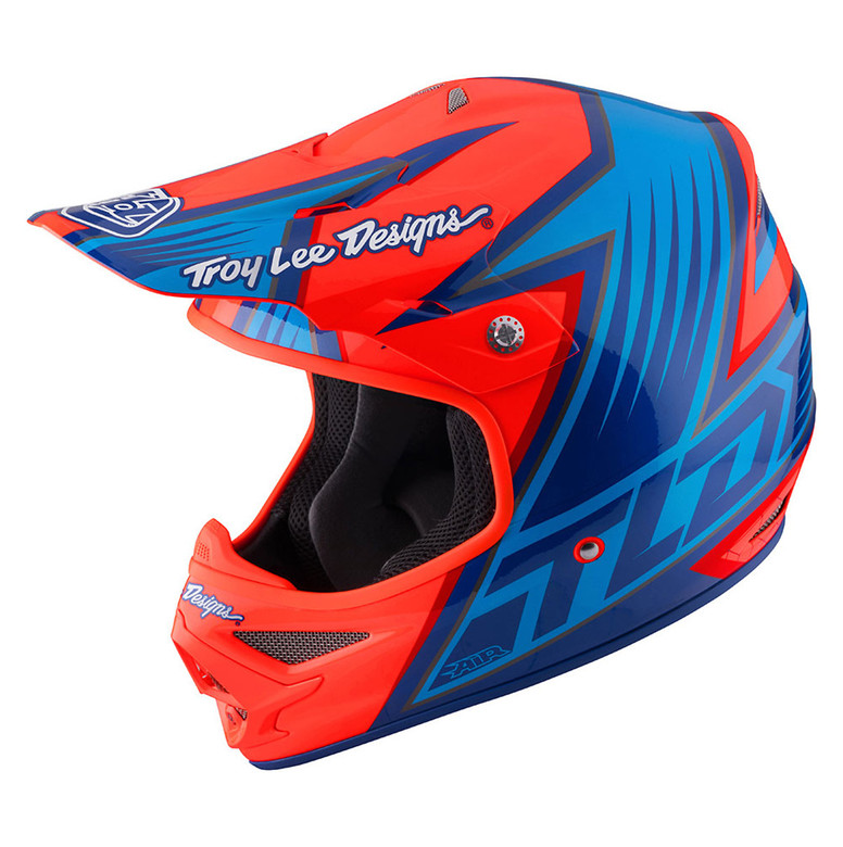 TLD Air Helmet - Vengeance Orange