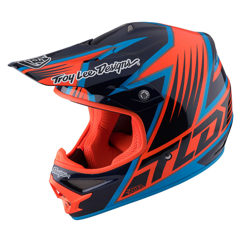 TLD Air Helmet - Vengeance Blue