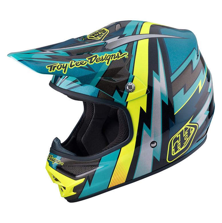 TLD Air Helmet - Beams Green