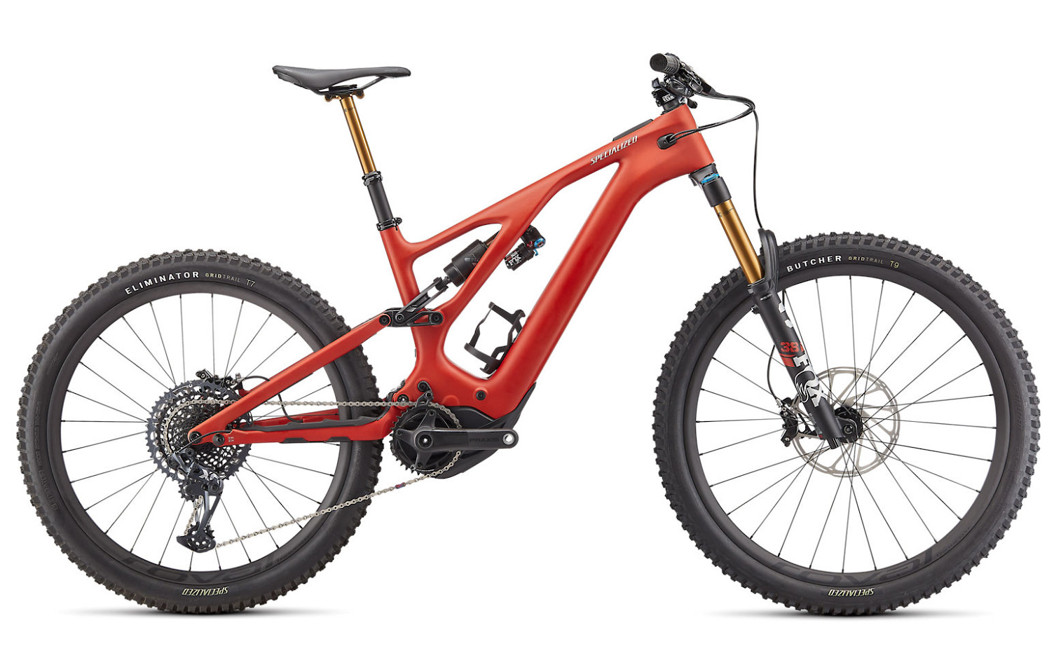 2022 Specialized Turbo Levo Pro (Satin Redwood / Smoke / Black)