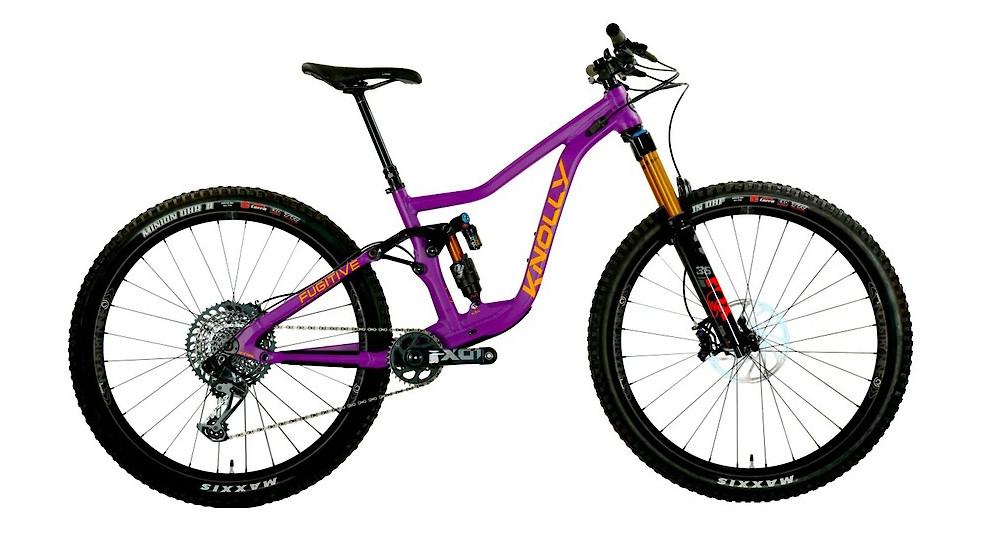 2021 Knolly Fugitive 138 (LA Purple Matte)