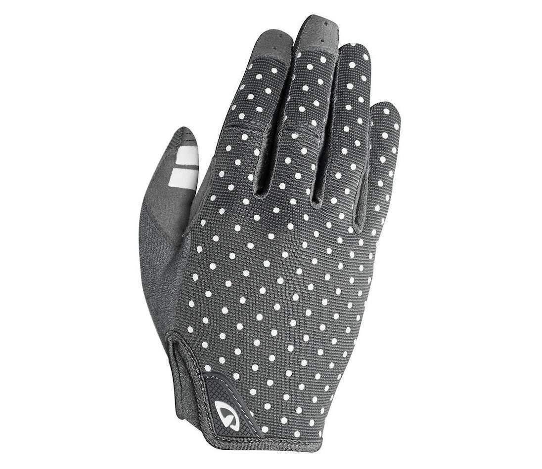 Giro Women's LA DND Glove (Dark Shadow/White Dots)