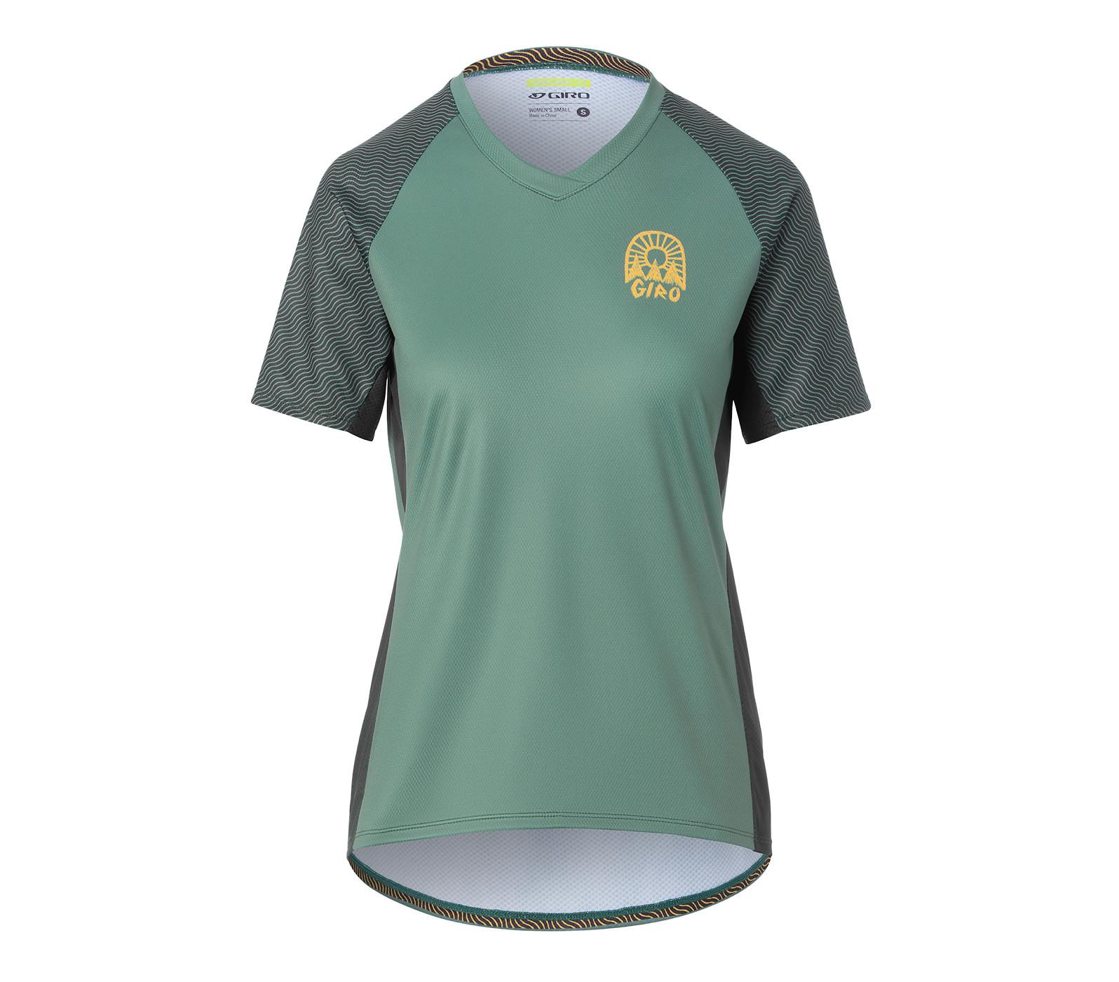 Giro Women's Roust (Grey Green Wavy, front)