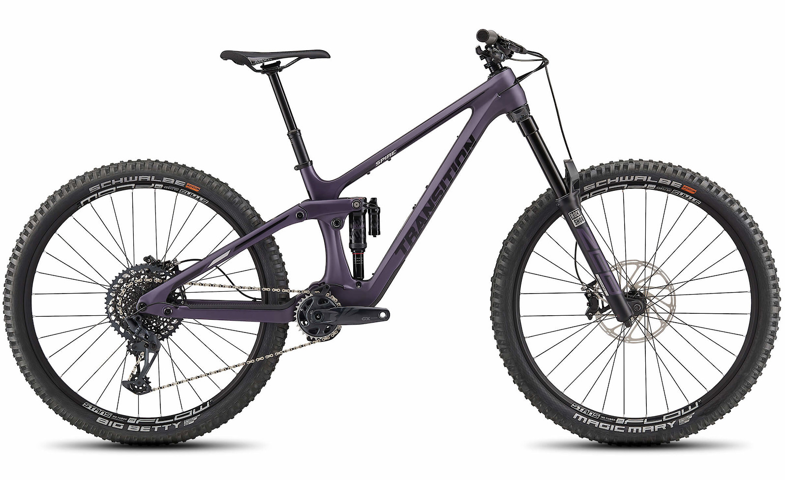 2021 Transition Spire Carbon with GX build (Huckleberry)