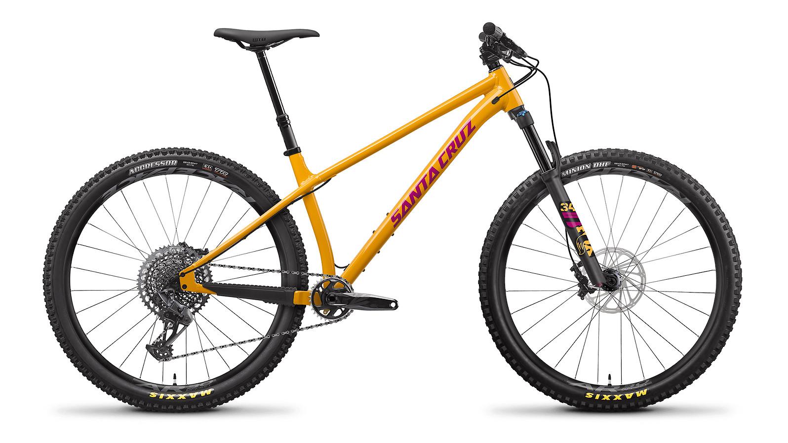 2022 Santa Cruz Chameleon S Aluminum 29 (Golden Yellow)