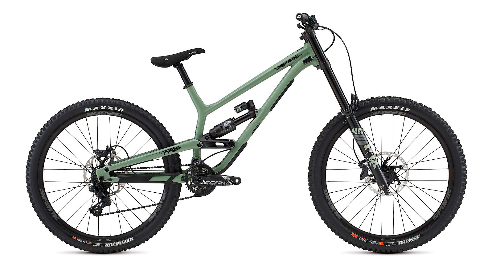 2022 Commencal Furious Essential Heritage Green