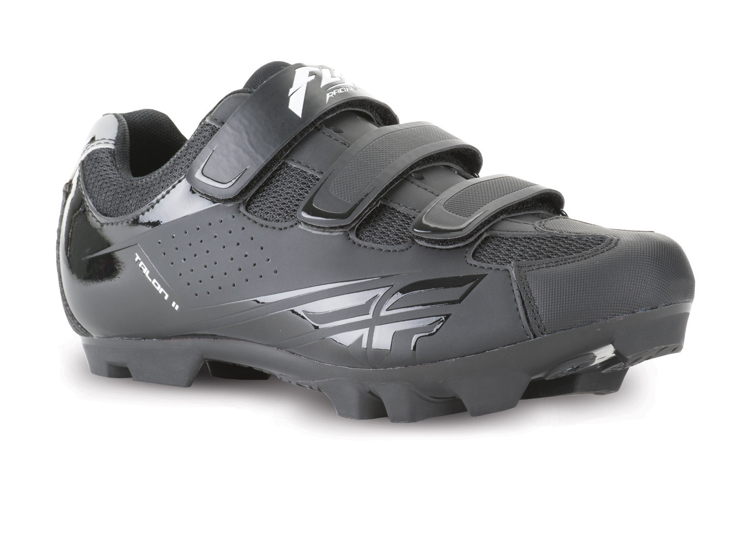 Fly Racing Talon II Clipless Shoe  Black