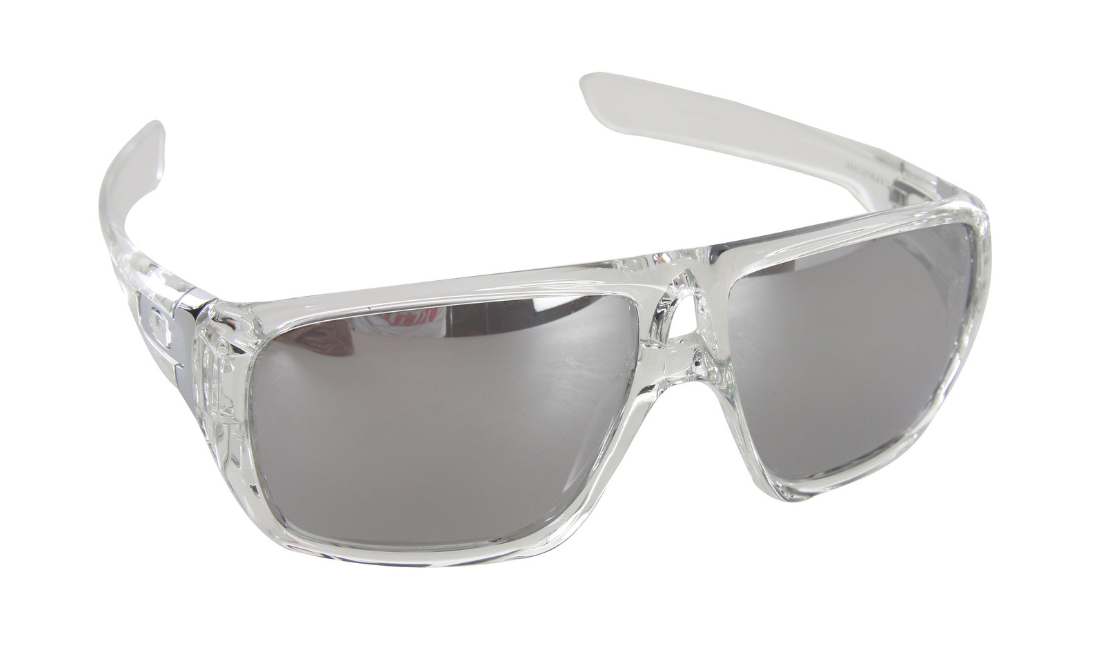 Oakley Dispatch Sunglasses Polished Clear/Chome Lens - Reviews ...