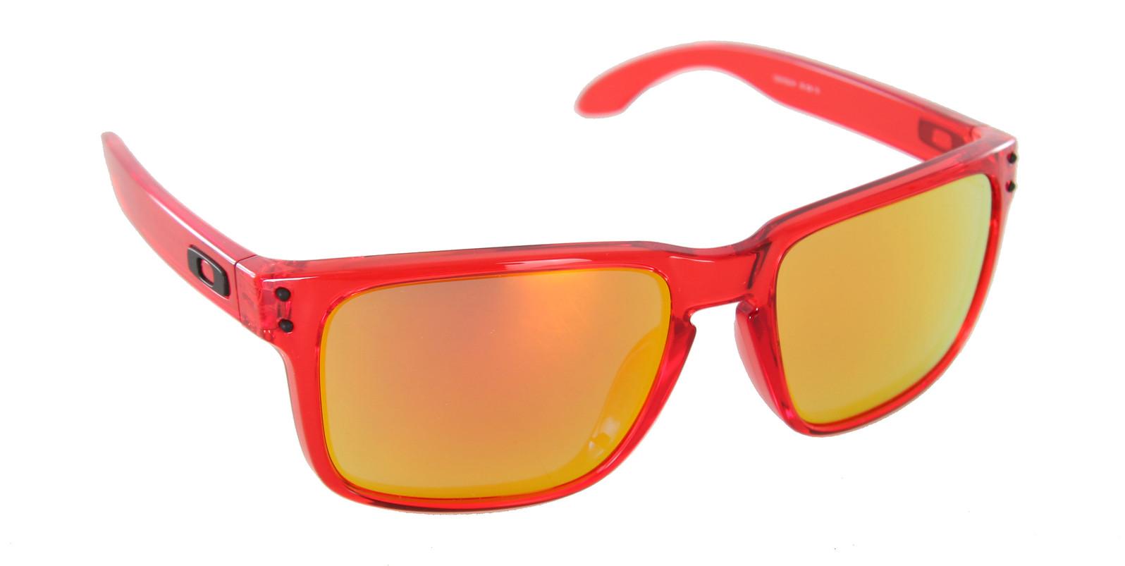 oakley holbrook ruby iridium lens