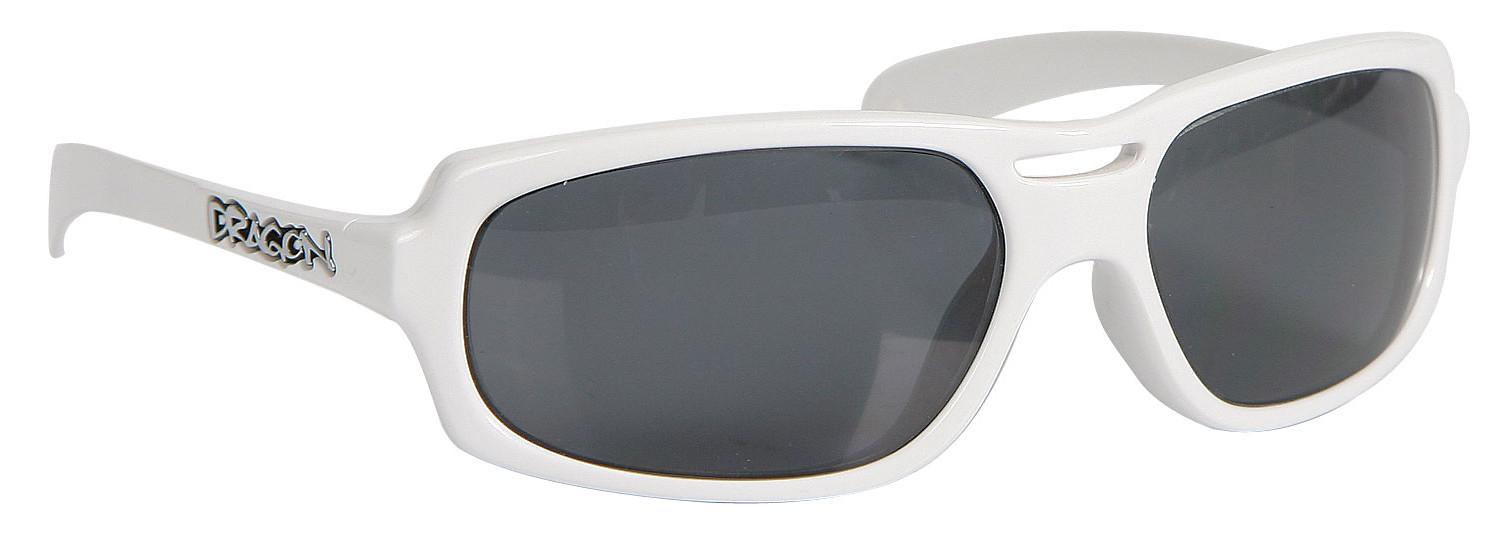 1a6201a0de Dragon Stocker Sunglasses White Grey Polarized Lens - Reviews ...