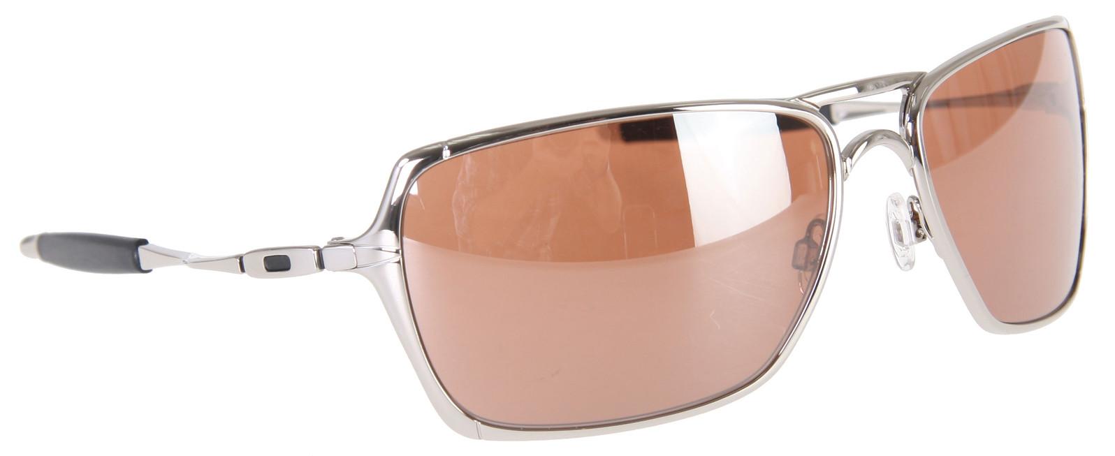 989f9f96e7 Oakley Inmate Sunglasses Polished Chrome Vr28 Black Iridium Lens ...