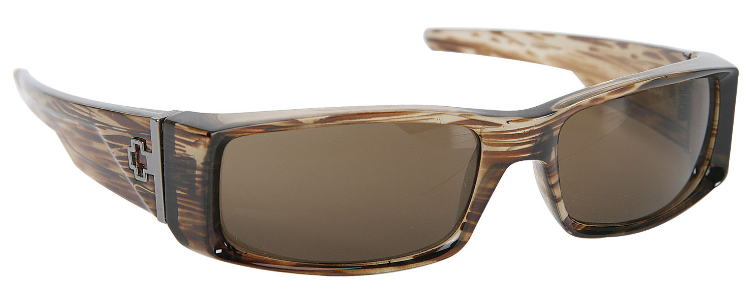 b9f42d19ec Spy Optic Spy Hielo Sunglasses Brown Stripe Tort Bronze Lens ...
