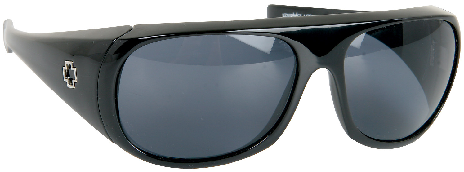 Spy Optic Spy Hourglass Sunglasses Black/Grey Lens  spy-hrglss-blk-gry-06.jpg