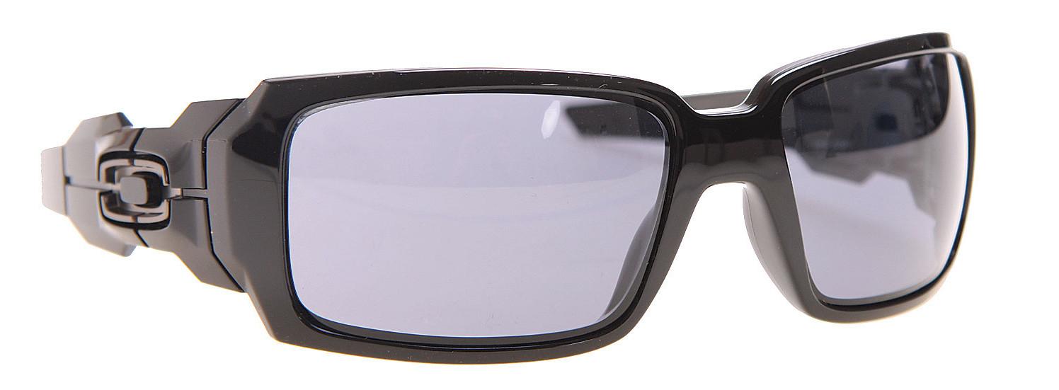 ee40db4926 Oakley Oil Drum Sunglasses Polished Black Grey Lens - Reviews ...