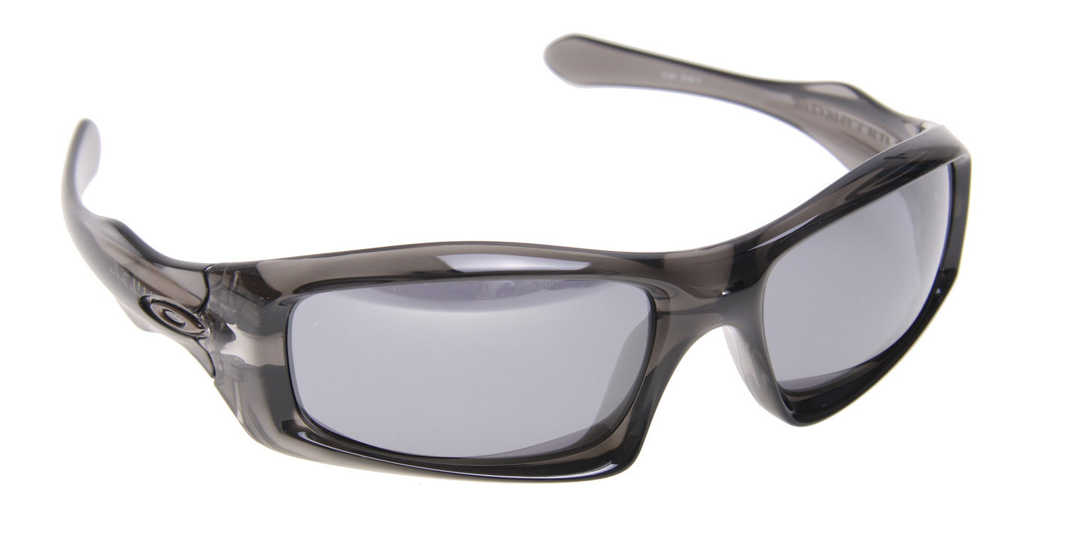 a97041338f Oakley Monster Pup Sunglasses Grey Smoke Black Iridium Lens ...