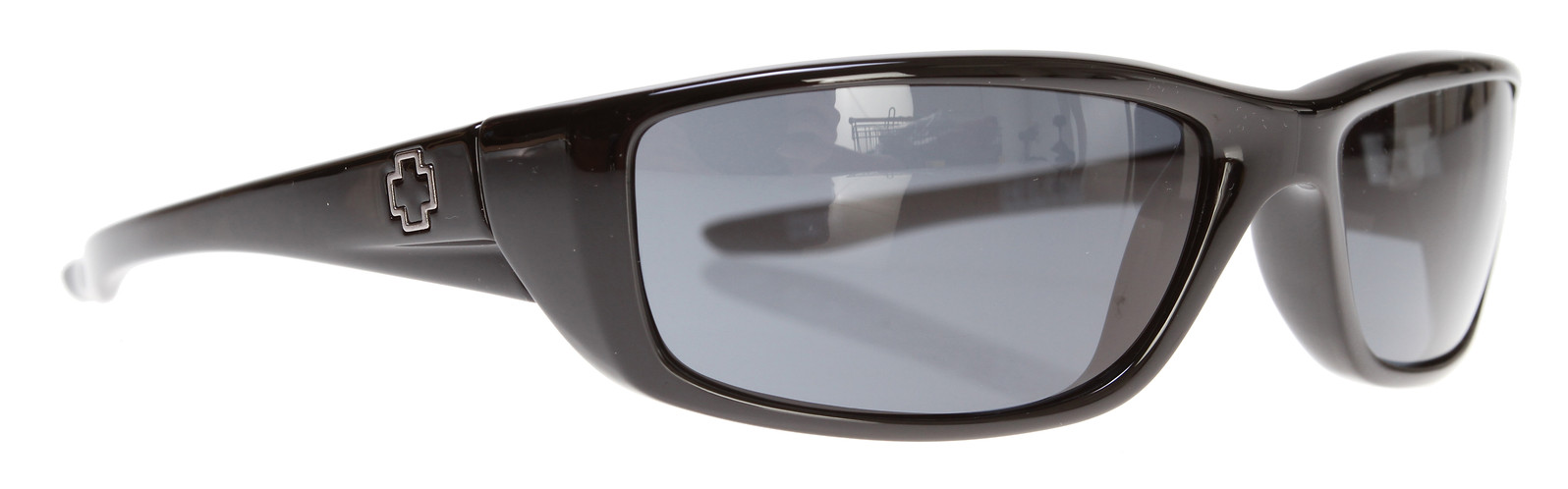 e73b0ebe54a1e Spy Optic Spy Curtis Sunglasses Shiny Black Grey Lens - Reviews ...