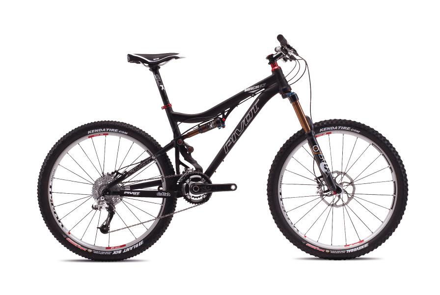 bike - Pivot Mach 5.7 with X0 (Anodized Jet Black)