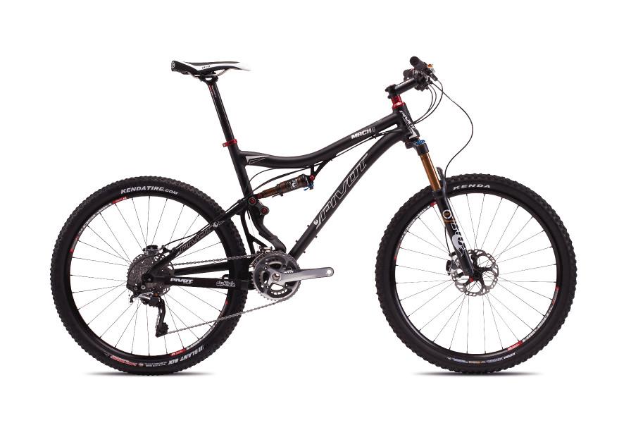 bike - Pivot MACH 4 (black with Shimano XTR)