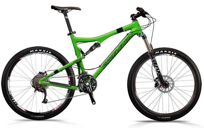 bike - Santa Cruz Blur XC Carbon (green)