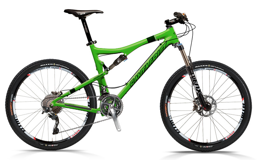bike - Santa Cruz Blur XC Carbon with XTR xc Build (green)