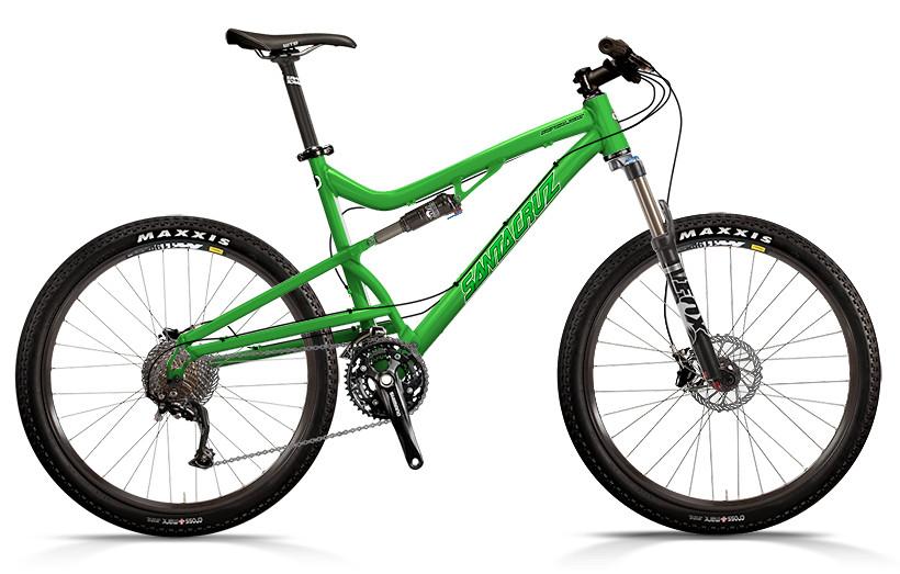 bike - Santa Cruz Superlight with R xc Build (green)