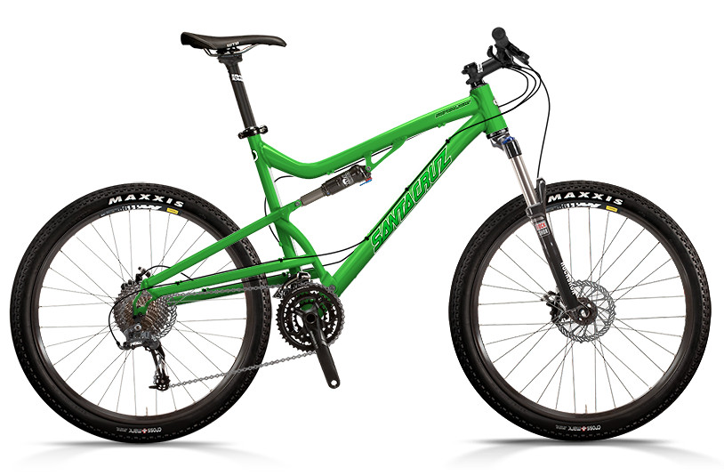 bike - Santa Cruz Superlight with D xc Build (green)