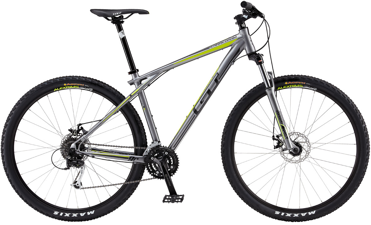 bike - GT KARAKORAM 4.0 MECH (silver)
