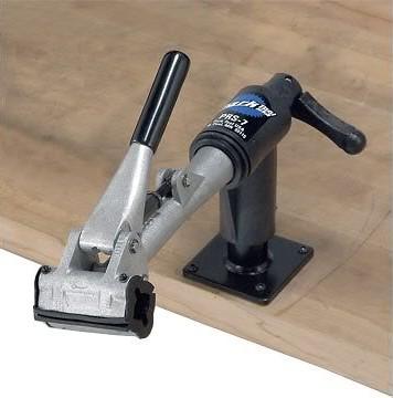 Single Park Tool PCS-12 Home Mechanic Bench Mount Stand