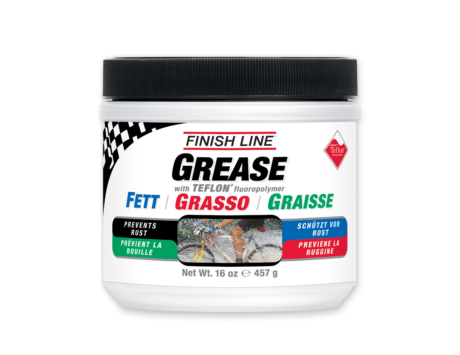 Finish Line Teflon Grease (1 lb / 16 oz tub)