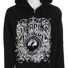 Dragon The Wrath Zip Hoodie Black