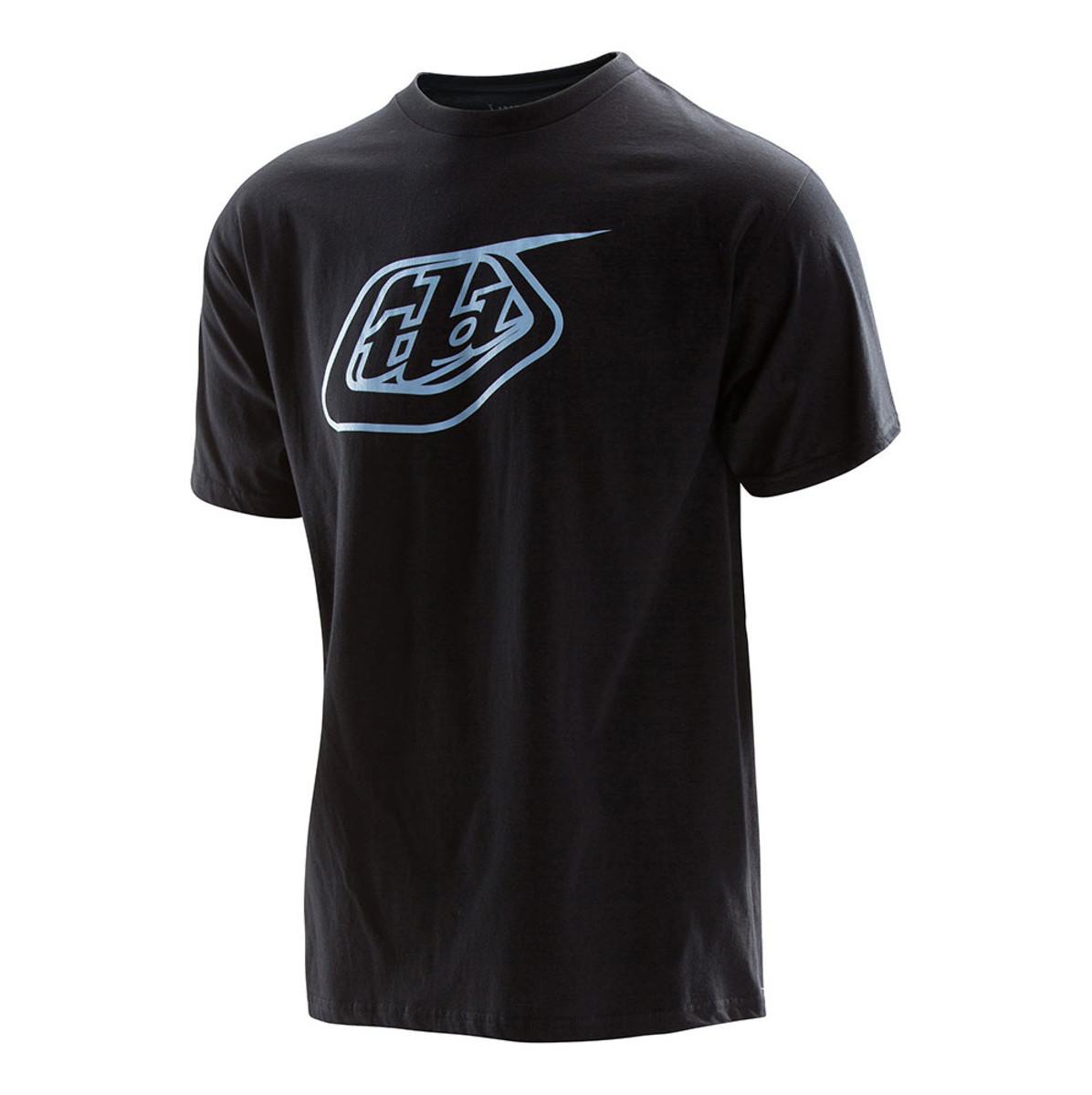 TLD Logo Tee - black:blue