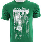 Troy Lee Designs Paint Drips T-Shirt Kelly Green