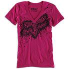 Fox Racing Riders Co Finish Line T-shirt - Womens Cupid