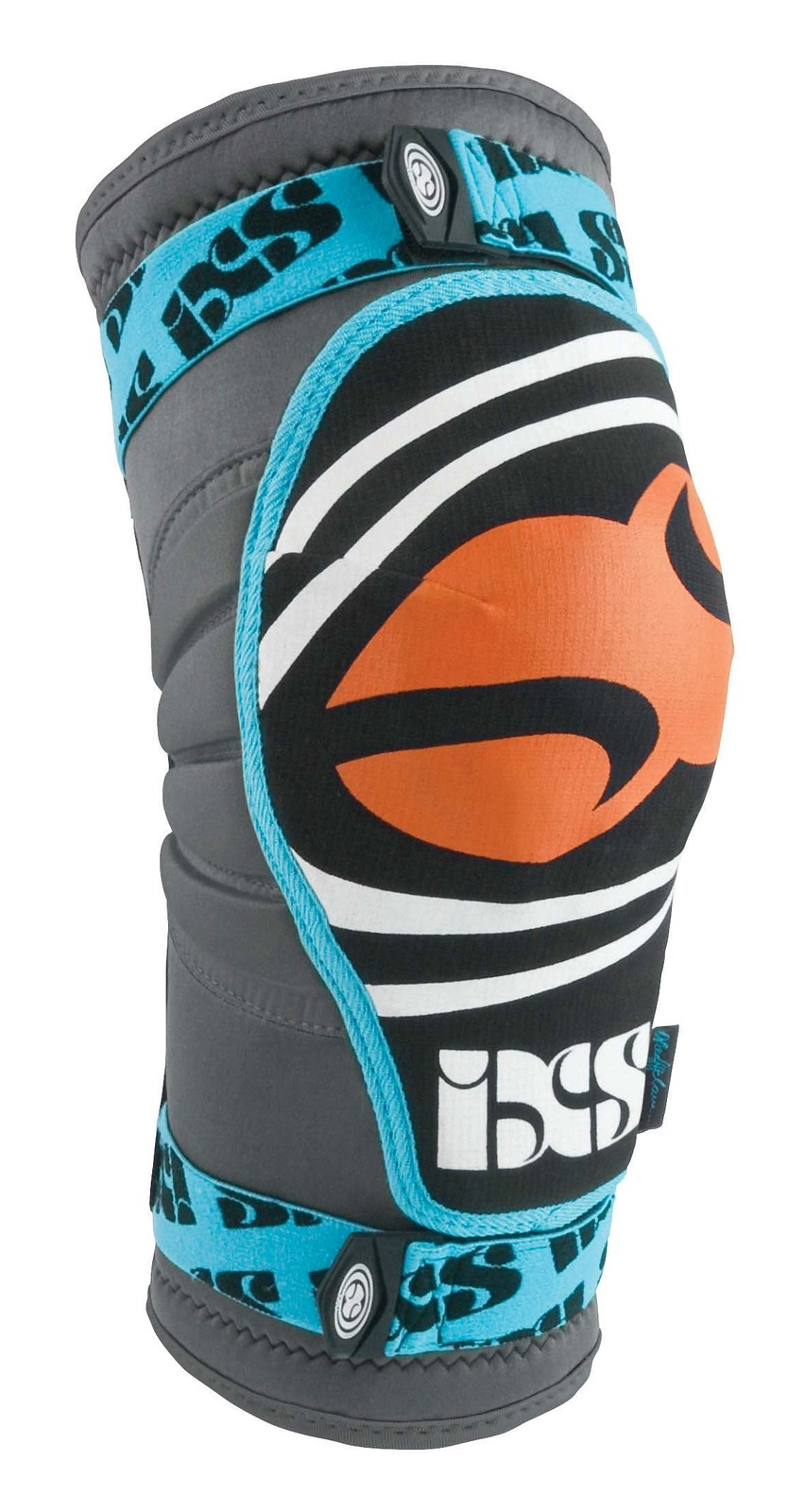iXS Slope-Series EVO D'Claw Signature Knee Pad SLOPE-EVO-DCLAW-BLUE-front