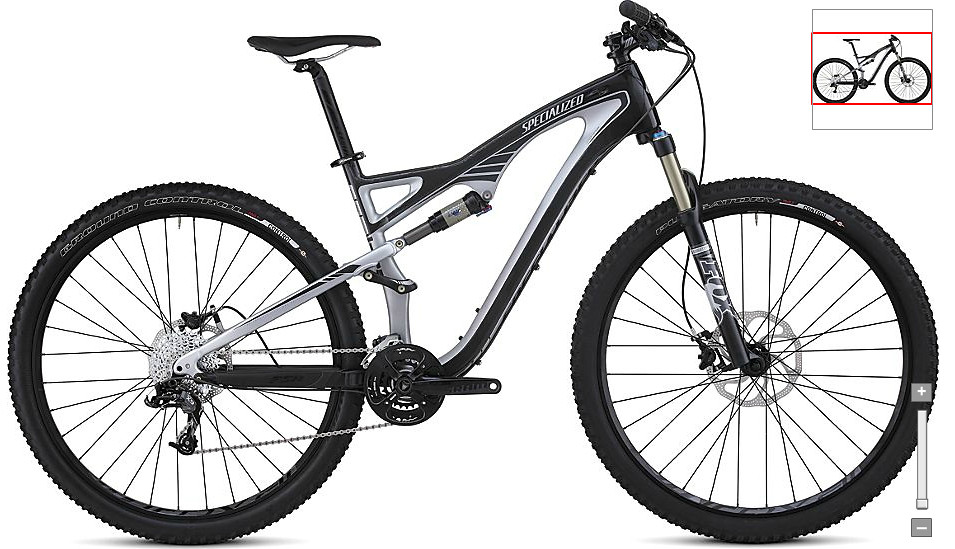 2012 Specialized Camber Comp Carbon 29 Bike