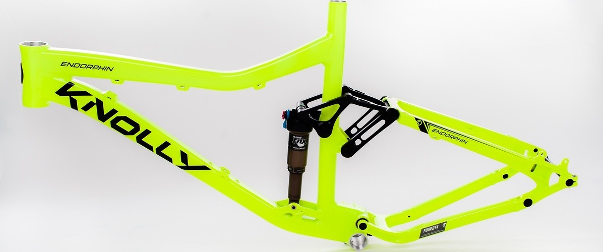 Knolly Endorphin - 2012 Frame Knolly Endorphin Day Glow Yellow