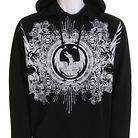 Dragon Medievel Hoodie Black