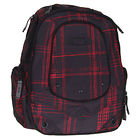 Oakley Stretch Plaid Backpack Black/Red