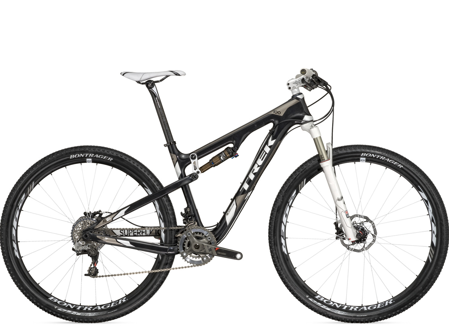 "NOS 2012 Trek Superfly 100 Pro Carbon 29 Full Suspension Frame-FRONT ONLY 21/""//XL"