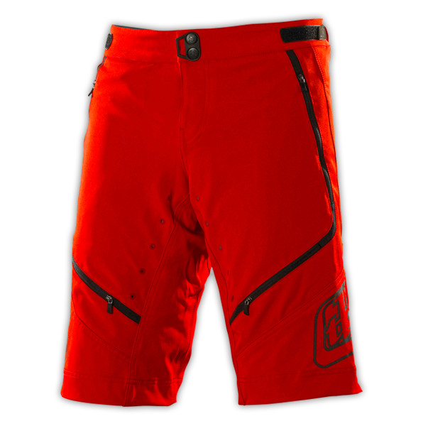 TLD Ace Shorts Red