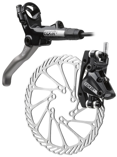 New Avid Elixir 1 Hydraulic Disc Brake Pair set+Brake Pads Black