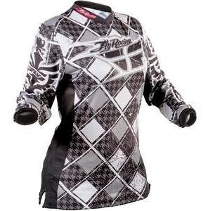 2010 Fly Racing Kinetic Girls Jersey (black)