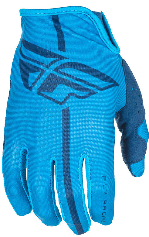 Fly Racing Lite Gloves (Blue Navy)