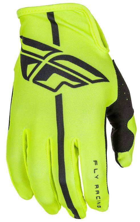 Fly Racing Lite Gloves (Hi Vis Black)