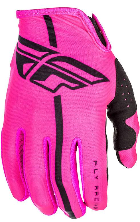 Fly Racing Lite Gloves (Neon Pink Black)