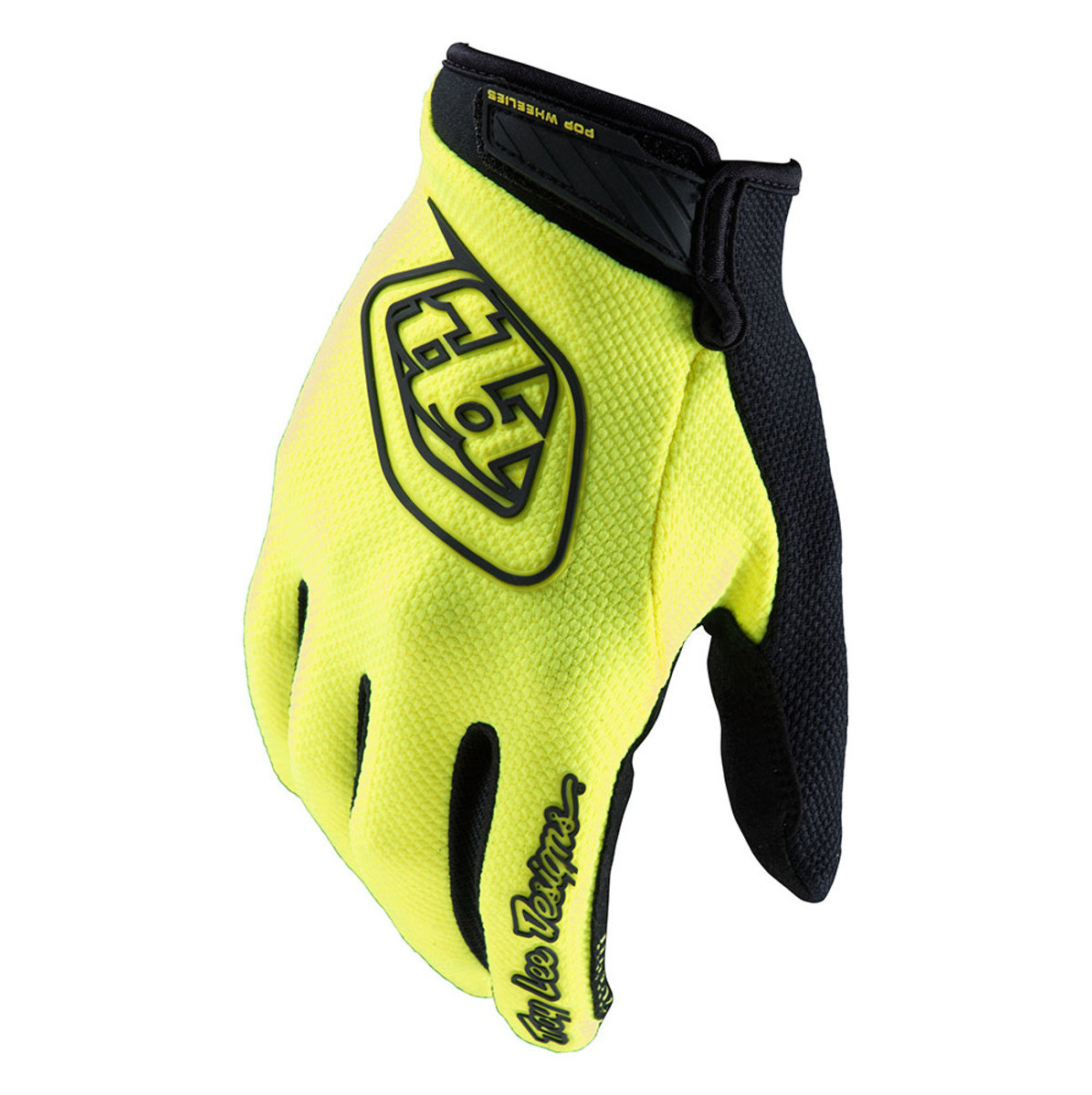 2018 Troy Lee Designs Youth Air Gloves-Flo Yellow-YS