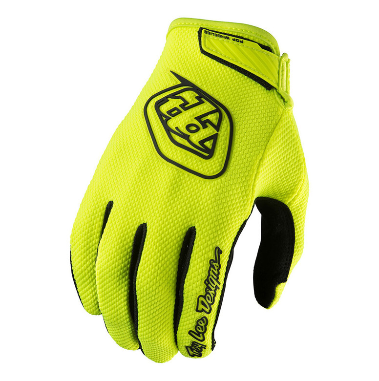 Troy Lee Designs Mountain Bike Full Finger Gloves AIR GLOVE; LIGHT BLUE XL